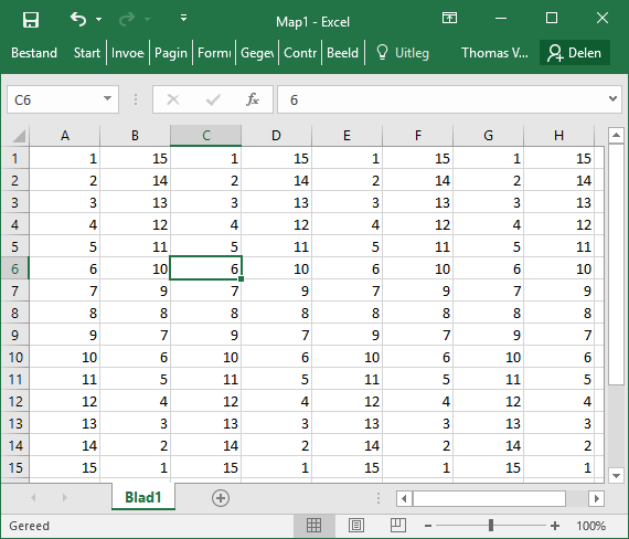 Excel: No row and column highlighting for the active cell