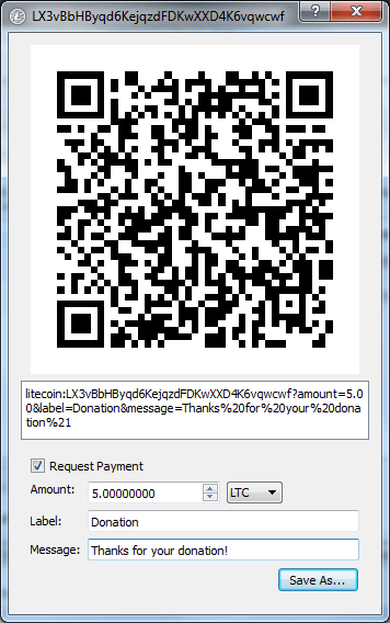 litecoin_qr_code_options